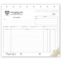 """Shipping Invoice,Classic Design,   8 1/2 X 7"""""""