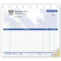 """Invoice - Small Lined, 8 1/2 X 7"""""""