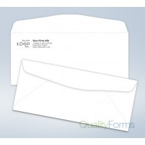 Imprinted Envelope,# 10, 4 1/8 x 9 1/2