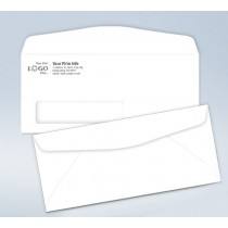 Imprinted Envelope,w/window, # 10,4 1/8 x 9 1/2
