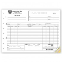 """Classic, Wide Body Wholesalers Invoices, 11 X 8 1/2"""""""