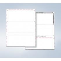 8 1/2″ x 11″  Pressure Seal  Form,  blank,  C Fold