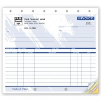 """Small Shipping Invoices,  8 1/2 X 7"""""""