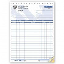 """Shipping Invoices - Large,  8 1/2 X 11"""""""