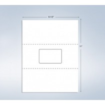"1 Integrated Card, 3-3/8"" x 2-1/8"", on the center"