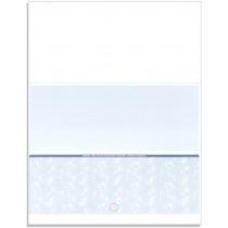 Blank Laser Bottom Check Paper