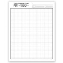 """Graph Papers, Standard 1/4"""", Padded"""