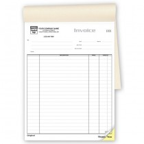 Classic Job Invoice - Large Booked