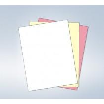 """8-1/2 x 11"""" NCR Laser Carbonless 3 Part Paper"""