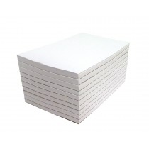 Blank Memo Pads  10 Pads  3 x 5