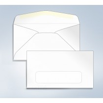 """Blank Envelope,W/Window, 6 3/4, 6-1/2"""" x 3-5/8"""
