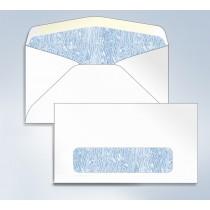 "Blank Envelope,Tinted W/Window, 6 3/4, 6-1/2"" x 3-5/8"
