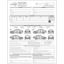 Auto Condition Form with 2 Cars, Style #2
