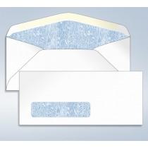 Blank Tinted Envelope,w/window, #9, 3 7/8 x 8 7/8