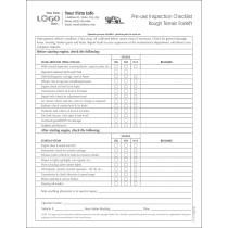 Forklift saftey Inspection Checklist Form