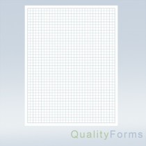 "8-1/2 x 11"" Quadrille Graph Paper"